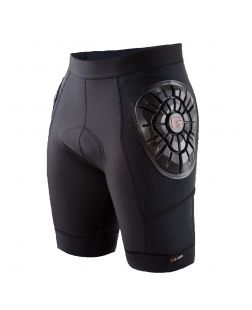Men's Elite Short Liner-S-Black/Black Topo