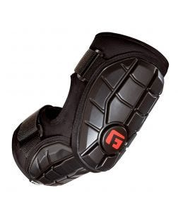 Elite Batter's Elbow Guard-S/M-Black