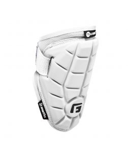Elite Speed Batter's Elbow Guard-S/M White