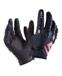 Pro Trail Gloves-S-Black/Black Topo