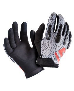 Pro Trail Gloves-S-Black/White Topo