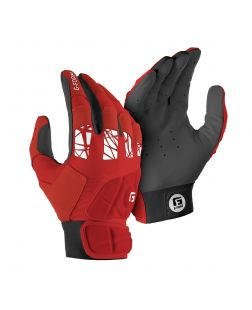 youth Pure Contact Batting Gloves-s-m-red