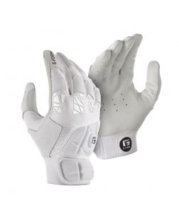 youth Pure Contact Batting Gloves-s-m-white