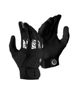 youth Pure Contact Batting Gloves-s-m-black