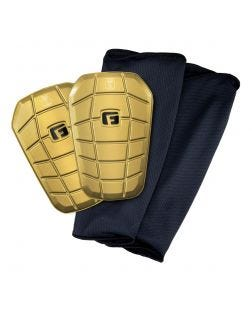 Pro-S Clash Shin Guards-XS-24k-gold