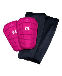Pro-S Clash Shin Guards-XS-pink