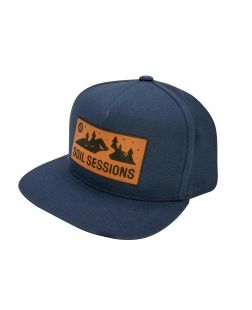 Soil Sessions Hat in Navy-Navy Blue