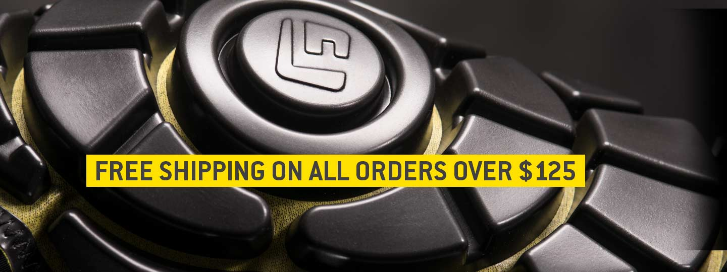 Free shipping on all orders over $125
