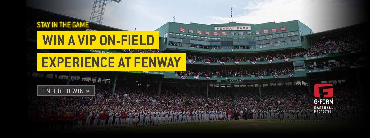 Win a VIP on-field experience at Fenway. Enter to win.