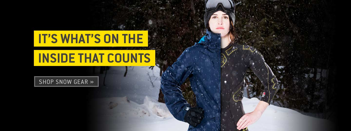 It's what's on the inside that counts. Shop snow gear.