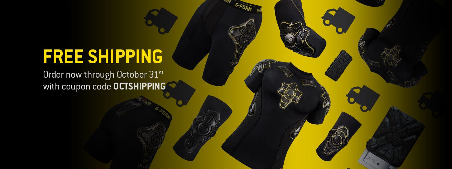 FREE SHIPPING. Order now through October 31st with coupon code OCTSHIPPING