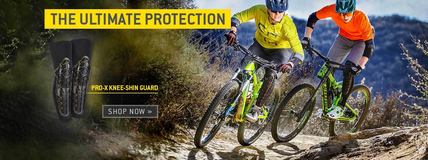 The ultimate protection: Pro-X Knee-Shin Guard. Shop Now